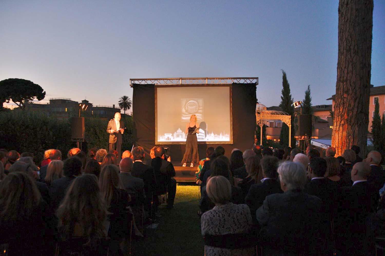 Premio Sesterzio, Grand Melia, Prestigious Venues