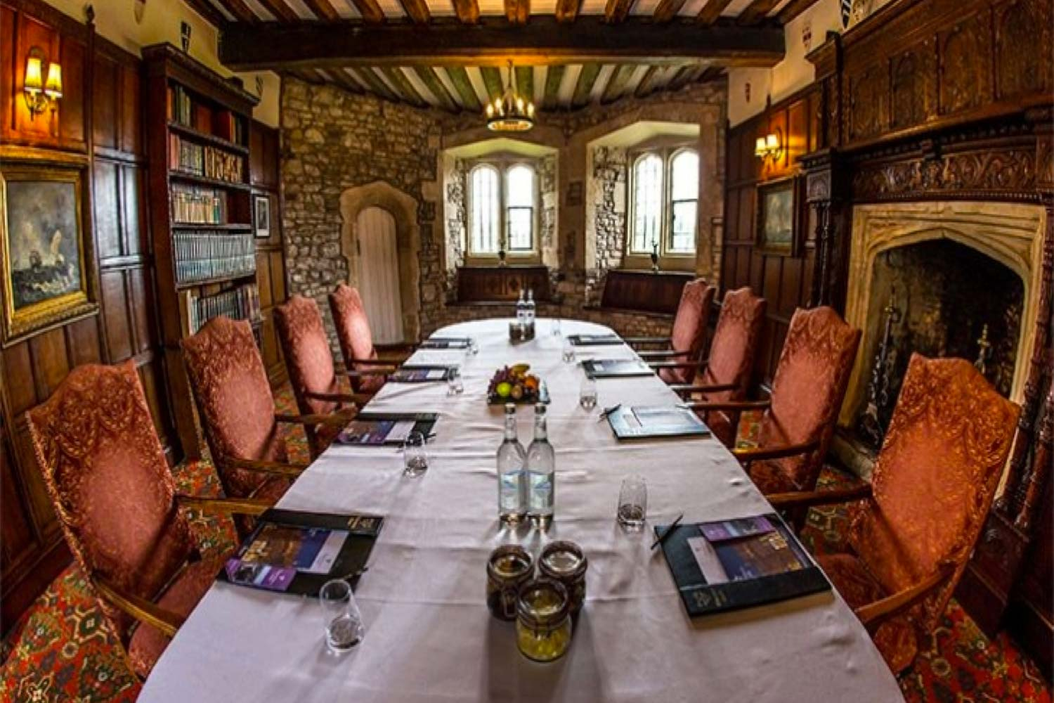 Team Building In UK, Thornbury Castle, Prestigious Venues