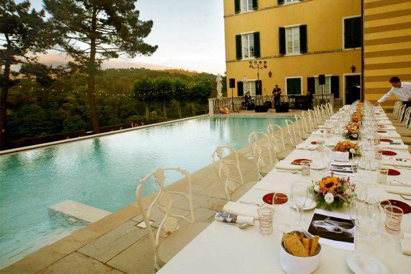 VIP 40th Birthday Party, Albergo Villa Casanova, Creative Platform Presentation