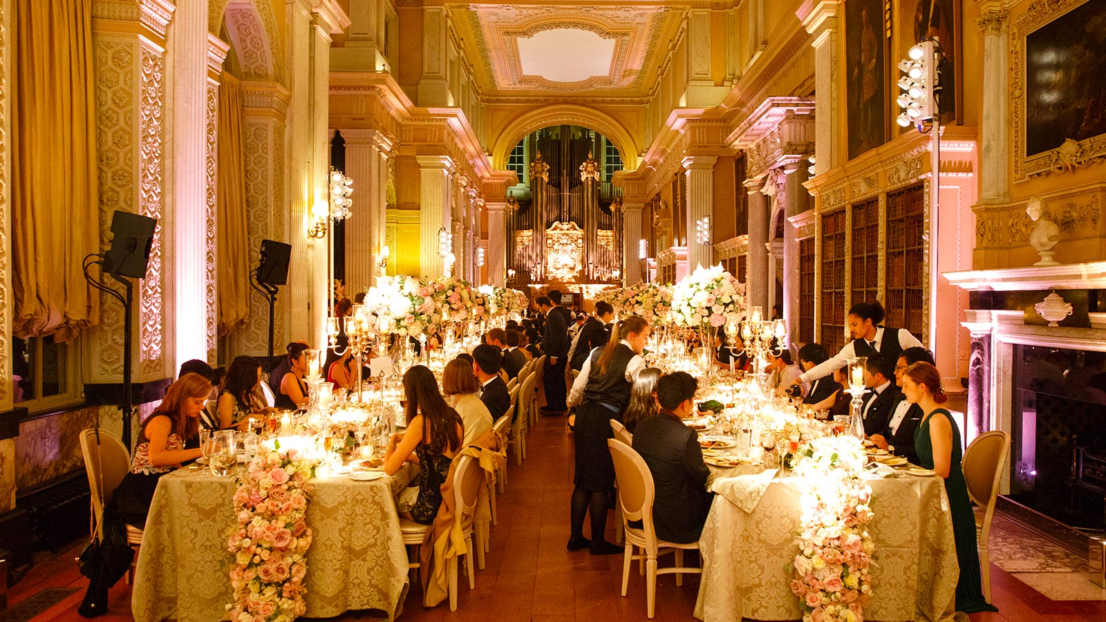 Blenheim Palace, Prestigious Venues, Wedding Dinner