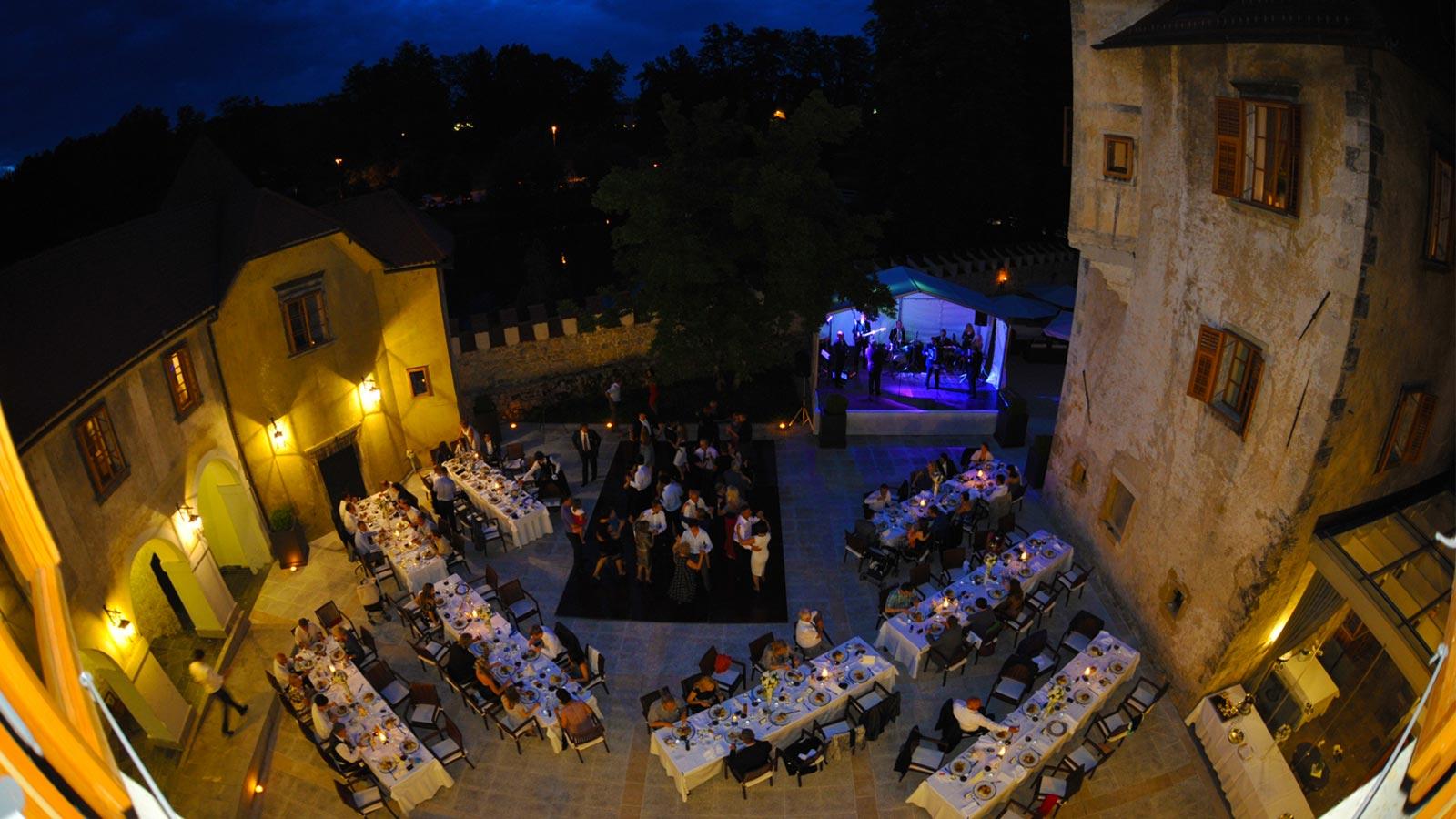 Castle Otocec, Prestigious Venues