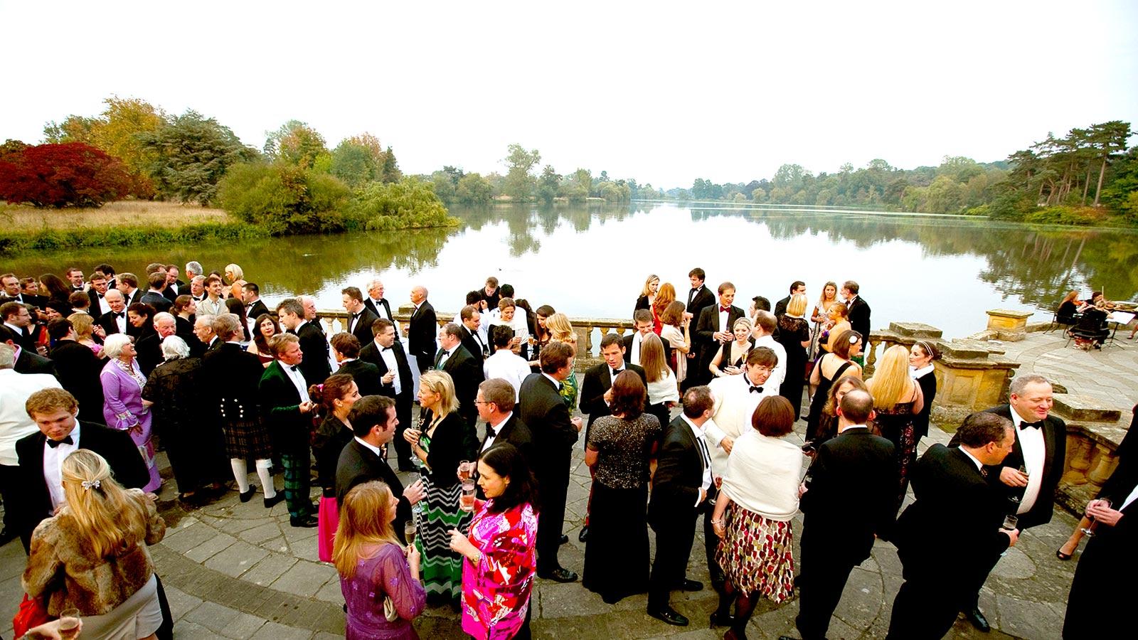 Hever Castle Logia Drinks Reception, Prestigious Venues, 3