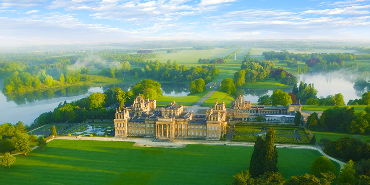 South-Lawn-aerial-2-Blenheim-Palace-Prestigious-Venues