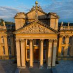 Great Court Aerial, Blenheim Palace, Prestigious Venues